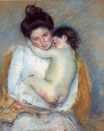 Mary Cassatt - Mother and Child 1900