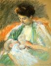 Mary Cassatt - Mother Rose Nursing Her Child 1900