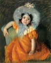 Mary Cassatt - Child In Orange Dress 1902