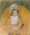Mary Cassatt - Young Girl Seated in a Yellow Armchair 1902
