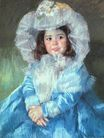 Mary Cassatt - Margot in Blue 1902
