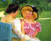 Mary Cassatt - In the Garden 1903-1904