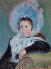 Mary Cassatt - Dorothy in a Very Large Bonnet and a Dark Coat 1904