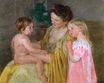 Mary Cassatt - Mother and Two Children 1906