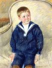 Mary Cassatt - Portrait of Master St. Pierre as a Young Boy 1906
