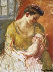 Mary Cassatt - Mother and Child 1908