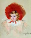 Mary Cassatt - Child with Red Hat 1908