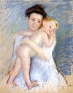 Mary Cassatt - Maternal Tenderness 1908