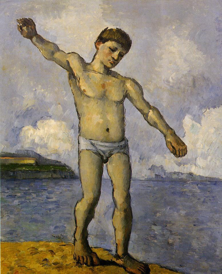Bather with outstreched arms 1878