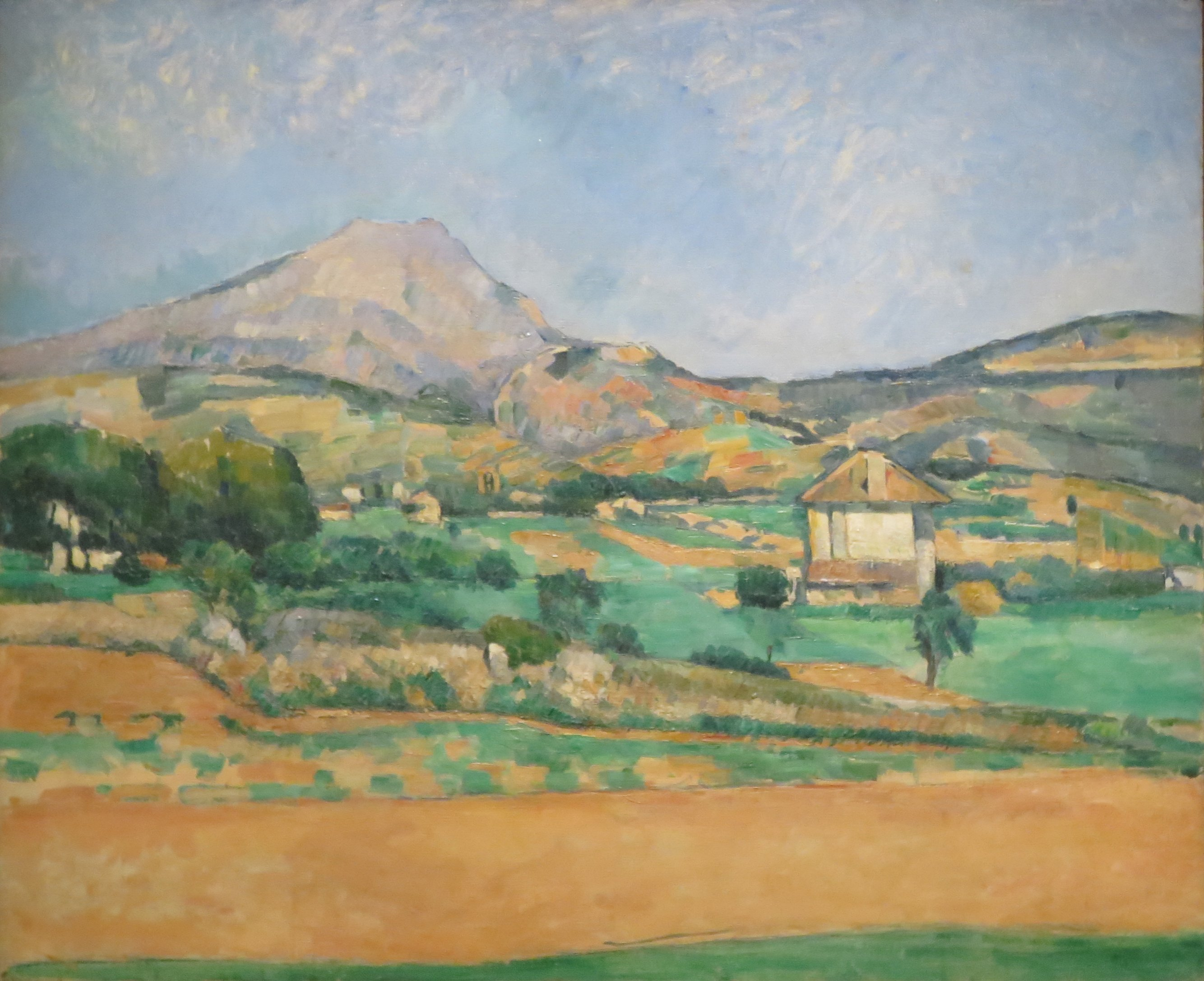 The Plain with Mont Sainte Victoire, View from Valcros 1879-1880