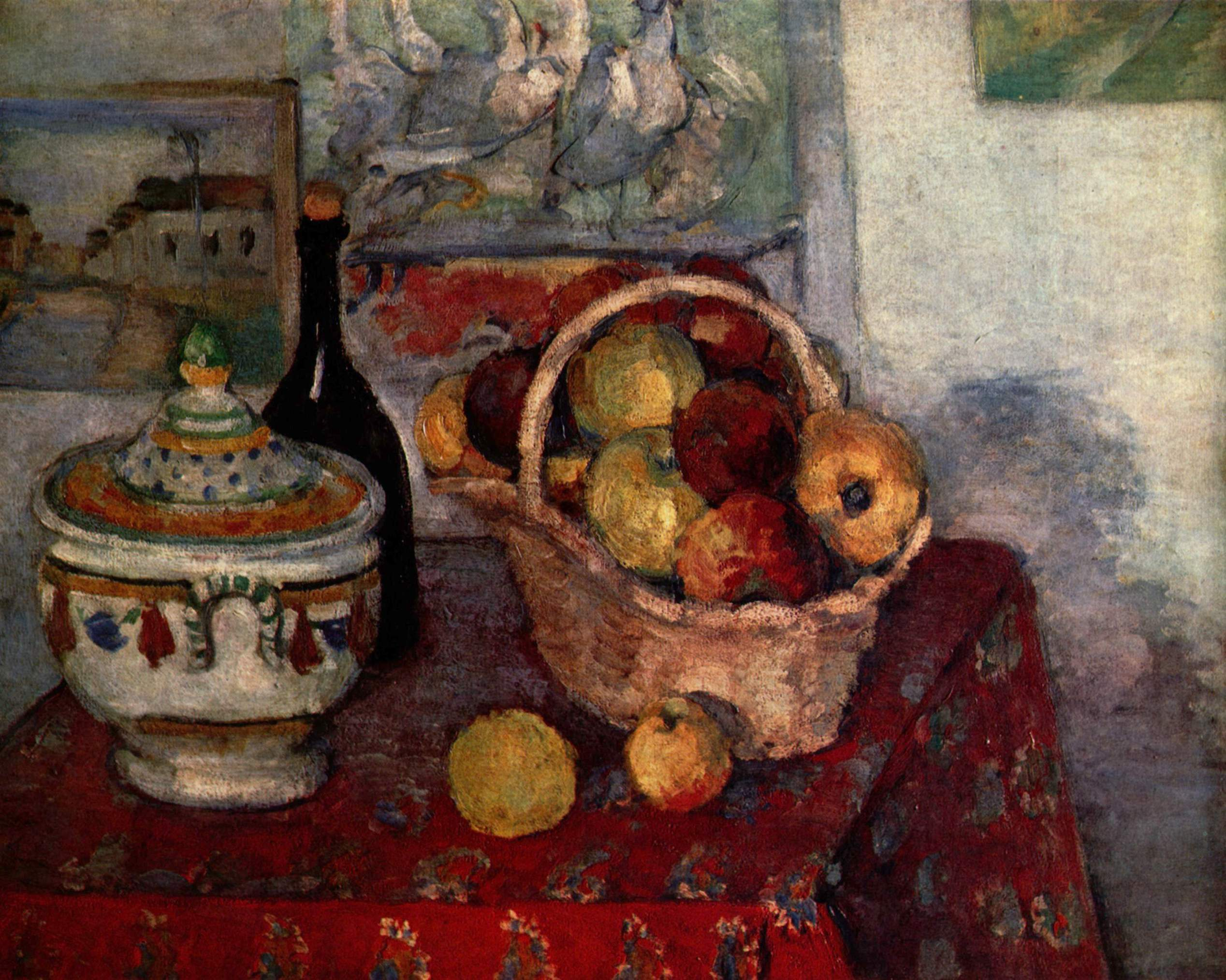Still life with soup tureen 1884
