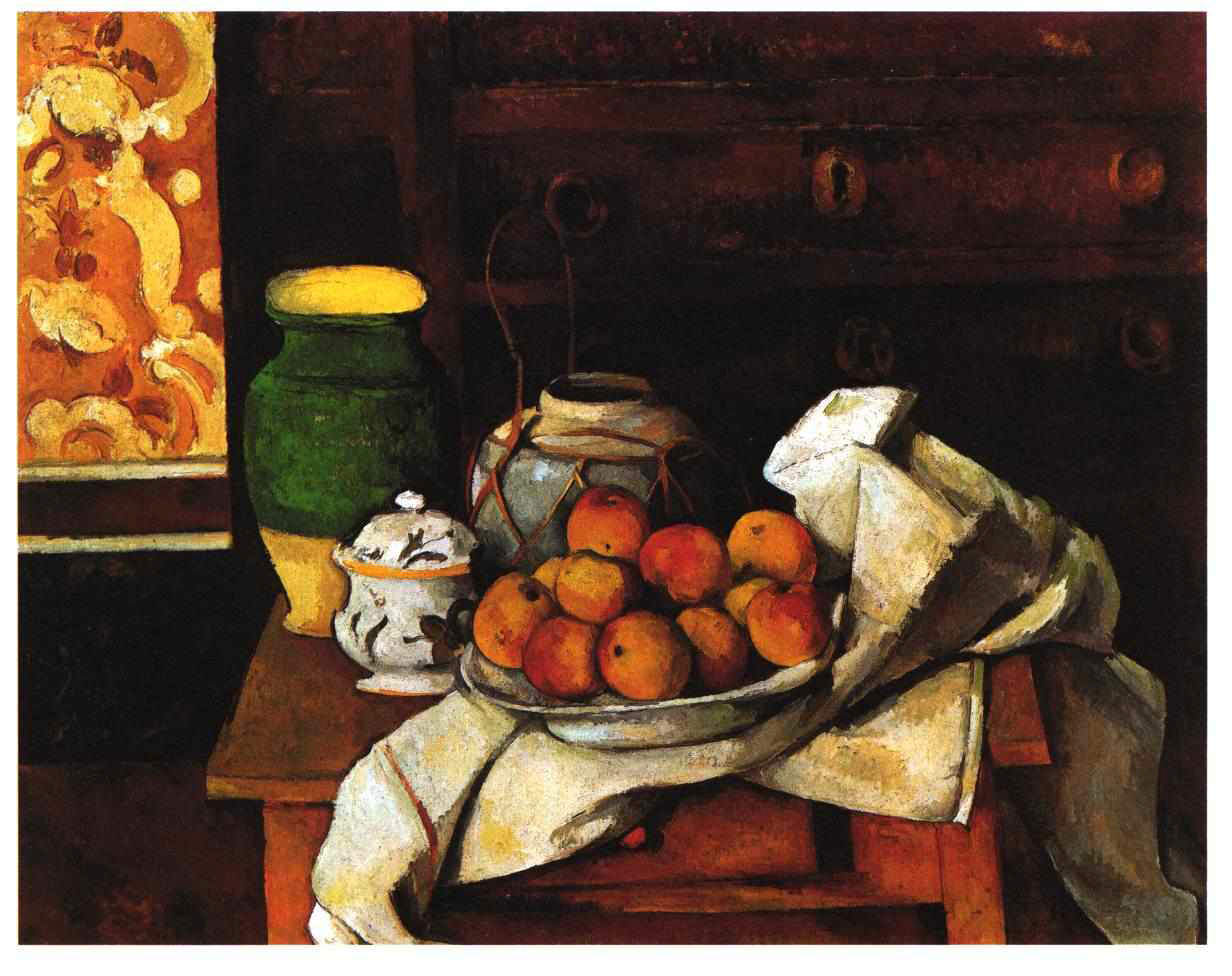 Still Life in front of a chest of drawers 1894