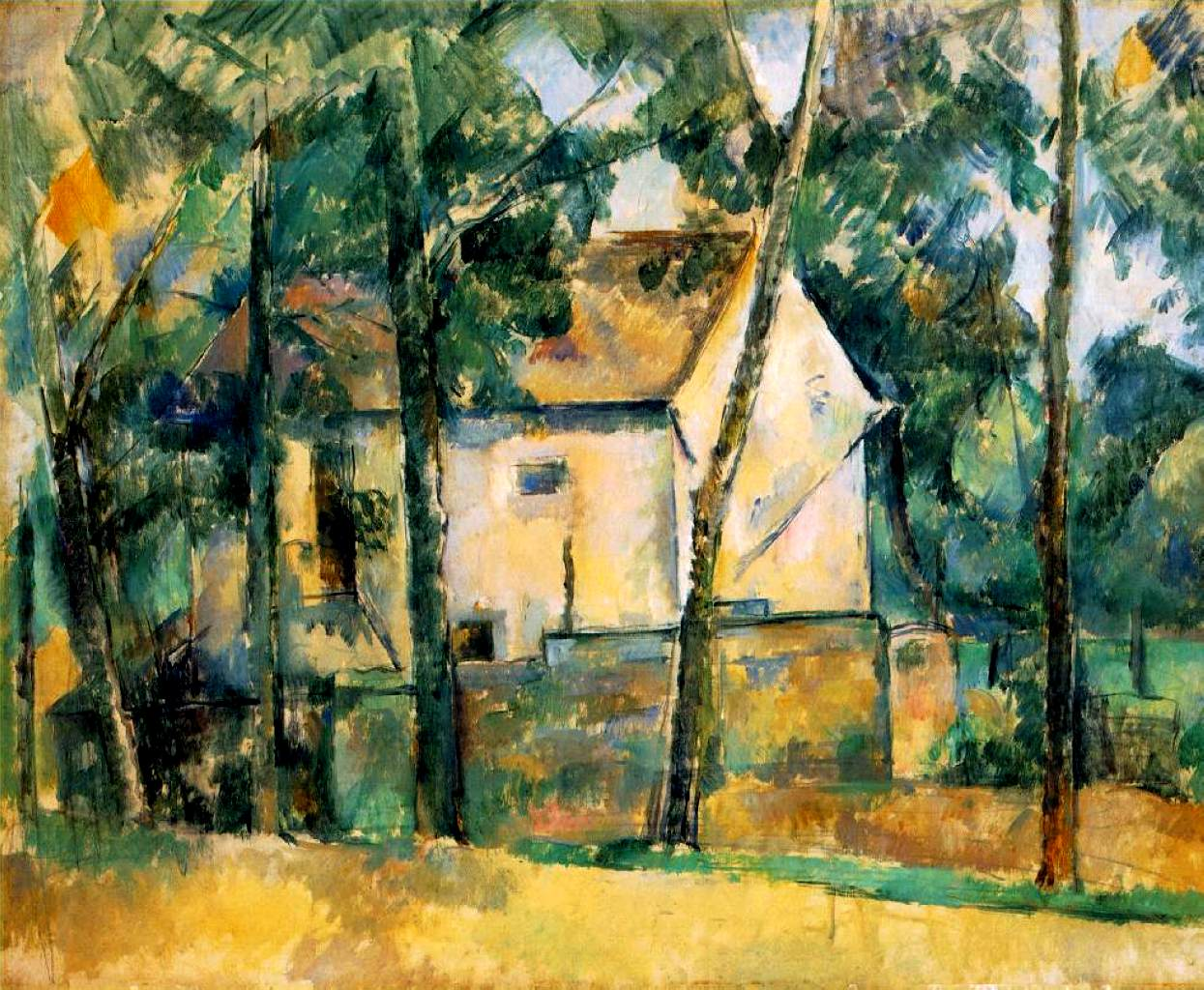House and trees 1894