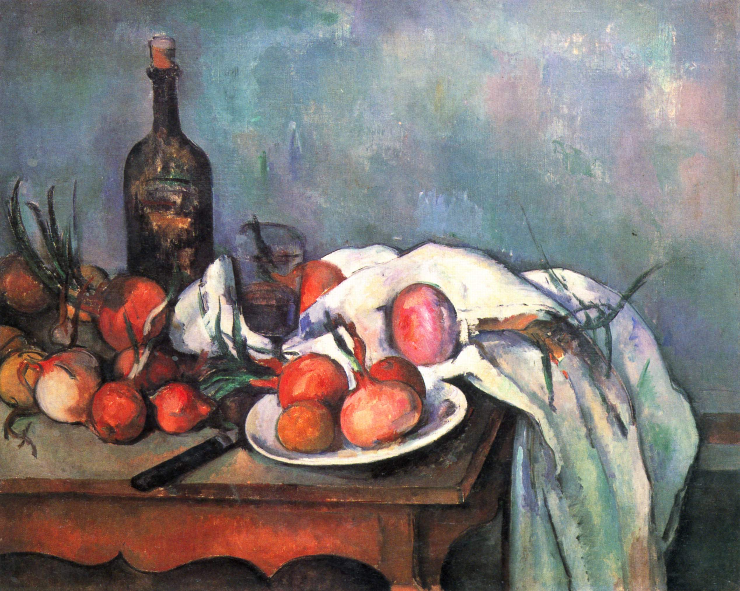 Still life with red onions 1898
