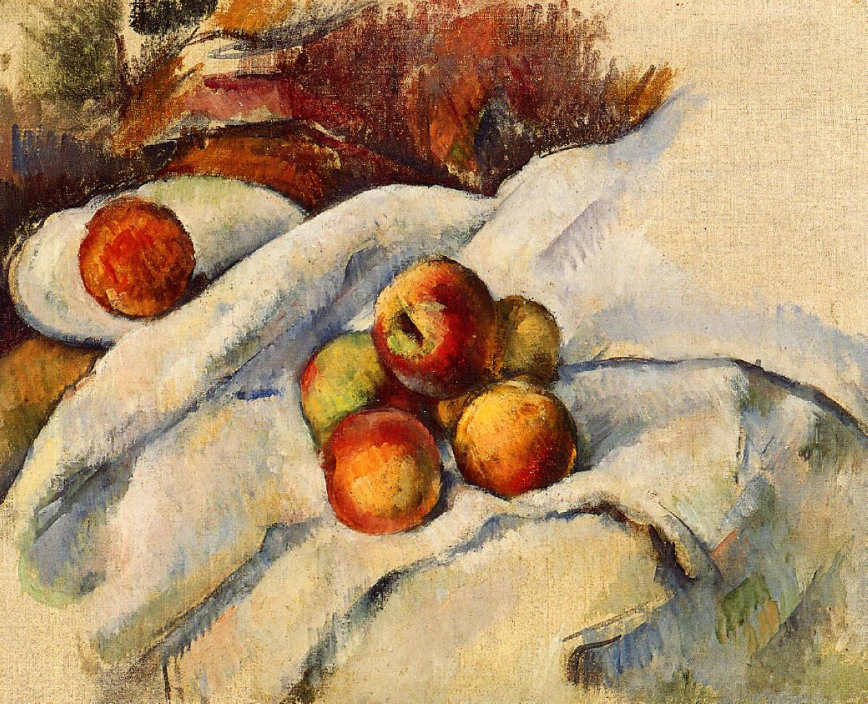 Apples on a sheet 1900