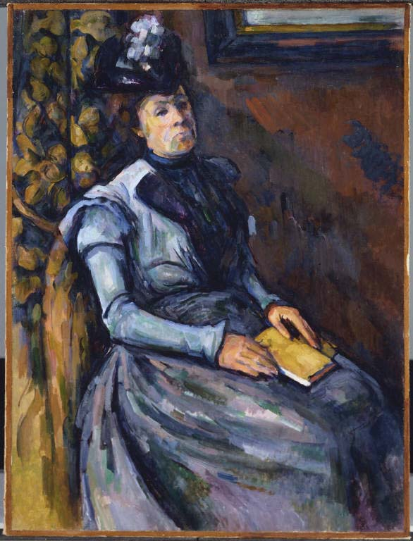Seated Woman in Blue 1902-1906