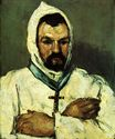Portrait of uncle Dominique as a monk 1866