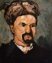 Portrait of uncle Dominique in a turban 1866