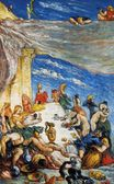 The feast the banquet of Nebuchadnezzar 1870