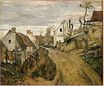 Route de village, Auvers entre 1872