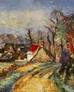 The turn in the road at Auvers 1873