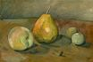 Still Life Pears and Green Apples 1873