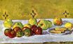 Still life with apples and biscuits 1877
