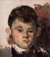 Portrait of the artist's son 1878
