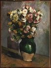 Flowers in an olive jar 1880