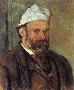 Self-portrait with white turbaned 1882