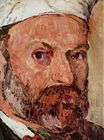 Self-portrait with white turbaned detail 1882