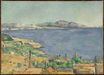 The gulf of Marseille seen from l'Estaque 1885