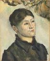 Portrait of Madame Cezanne 1885