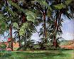 Tall trees at the Jas-de-Bouffan 1887