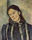 Madame Cezanne with unbound hair 1890-1892