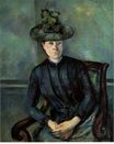 Madame Cezanne with green hat 1895