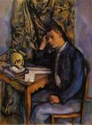 Young man and skull 1898