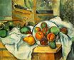 Table napkin and fruit 1900