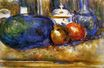 Still life with watermelon and pemegranates 1900-1906