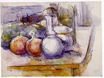 Still life with carafe sugar bowl bottle pommegranates and watermelon 1902