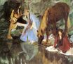 Edgar Degas - Mlle Fiocre in the Ballet 'The Source' 1868