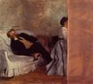 Edgar Degas - M. and Mme Edouard Manet 1869