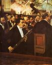 Edgar Degas - Orchestra of the Opera 1869