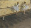 Edgar Degas - Dancers Practicing at the Barre 1877