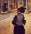 Edgar Degas - A Visit to the Museum 1880