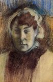 Edgar Degas - Portrait of Madame Ernest May 1882