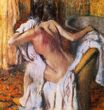 Edgar Degas - After the Bath, Woman Drying Herself 1892