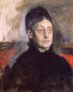 Edgar Degas - Stefania Primicile Carafa, Marchoiness of Cicerale and Duchess of Montejasi 1895