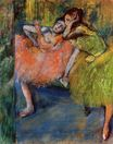 Edgar Degas - Two Dancers in the Foyer 1900