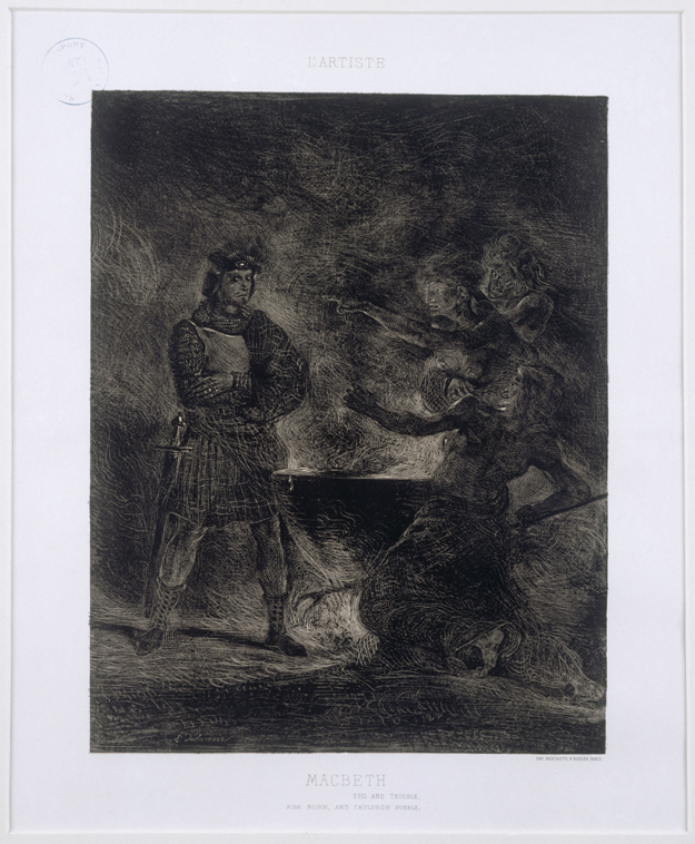 Macbeth and the Witches 1825